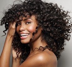 Weaves with curls and extensions